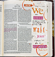 Journaling Bible Acts 1:6-11