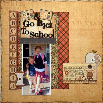 K & R Go Back To School