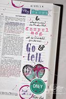 Journaling Bible Matthew 28:1-10