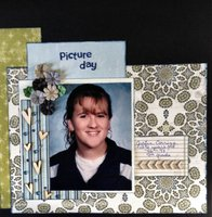 picture day(Sept. 2014 Use Your Stash Challenge)
