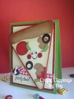 Pizza Card, Birthday CArd