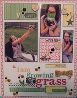 I Am Growing Grass with Webster's Pages – Let's Celebrate