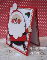 Santa Card, Christmas Card