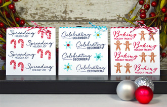 Bitty Christmas Cards *Technique Tuesday*