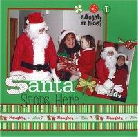 Santa Stops Here