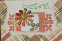October Christmas Card challenge