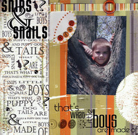 """What Boys Are Made Of (As seen in """"Scrappin', Stampin' & Stationery!"""")"""