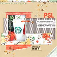 PSL (Pumpkin Spice Latte)