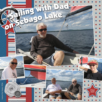 Sailing With Dad 2009