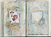 Altered Book: Women of Substance, Third Entry