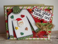 Ugly Sweater Chrsitmas Card