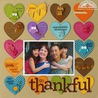 A Doodlebug Fall Thankful Layout by Mendi Yoshikawa