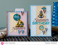 Summer cards  **Pink Paislee**