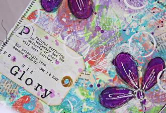 Art {Journaling} Romans 8:18-22