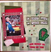 candy cane (Nov. 2014 Scrappy Bag of Tricks Challenge)