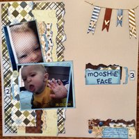 mooshie face (Nov. 2014 Use Your Stash Challenge)