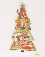 Joy Christmas Tree Home Decor
