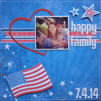 Happy Family on the 4th