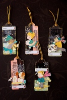 Acrylic Christmas Tags