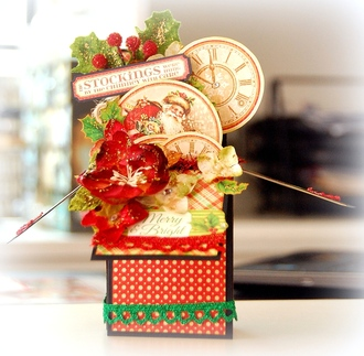 Merry and Bright Box Card