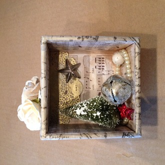 configuration box ornament