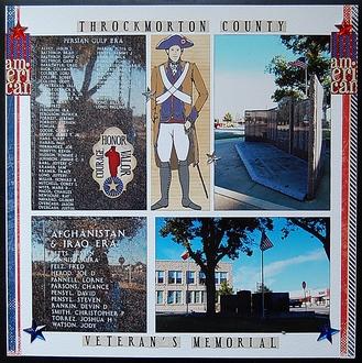 "Throckmorton County Veteran""s Memorial"
