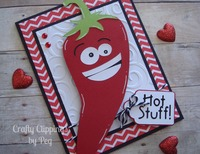 Hot stuff Valentine