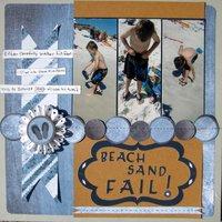 Beach Sand FAIL