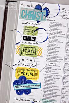 Journaling {Bible} Psalm 112:7