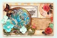 Flower Mail Art