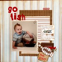go fish(Feb. 2015 Scraplift The Guest Designer & Guest Designer Challenge #3)