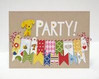 Bella Blvd. Tiny Tots Birthday Party Card by Mendi Yoshikawa