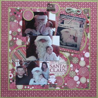 Wide-eyed for Santa