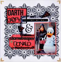 Darth Goofy & Stormtrooper Donald