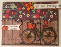Fall Card by Jenny Ewing