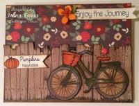 Fall Card by Jenny Ewing