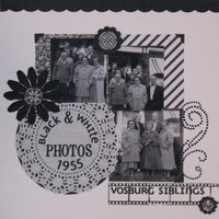 Black & White Photos: Vosburg Siblings