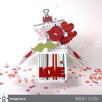 Valentine Box Card - Imaginisce