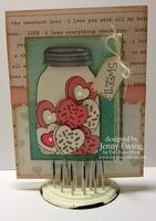 Valentine Card by Jenny Ewing