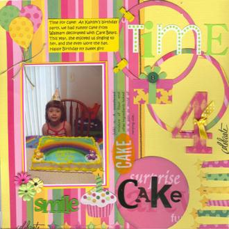 """Time """"4"""" Cake"""