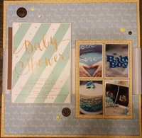 Baby Shower Left Page