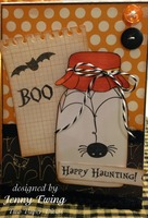 Halloween Card by Jenny Ewing