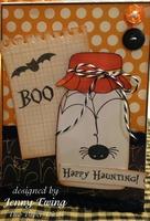 Halloween Card by Jenny Ewing