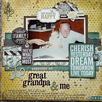 Memories of Great Grandpa & Me
