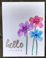 hello Friend card #2