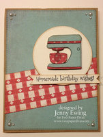 Birthday Card by Jenny Ewing