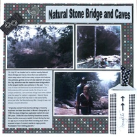 Natural Stone Bridge and Caves