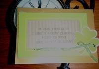 4 leaf card