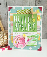- hello spring - **Elle's Studio March**
