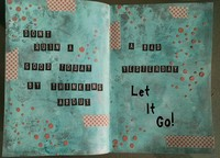 Let It Go Art Journal Page